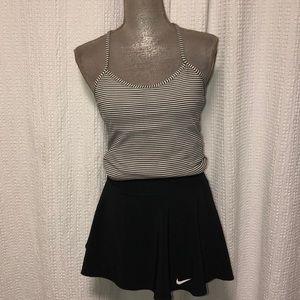 Nike black dri-fit tennis skirt, size M